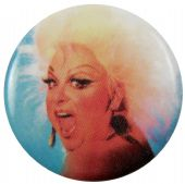 Divine - 'You Think You're a Man' Button Badge